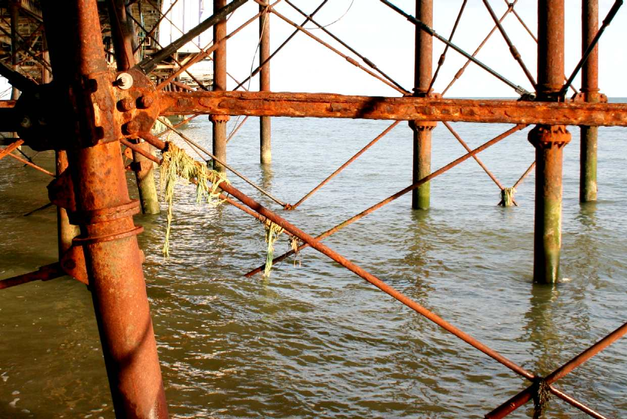 Eastbourne piers takeover bids and camera obscura sussex for Pier fishing net