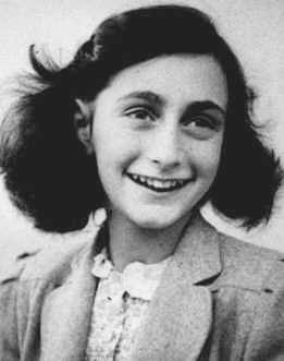 Anne Frank portrait Would YOU be a shelter? (Remembering Anne Frank)