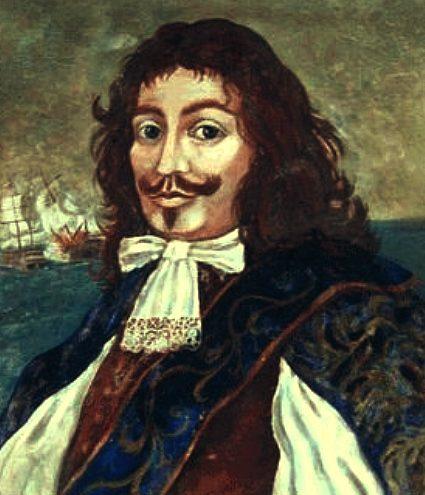 Admiral Captain Sir Henry Morgan Pirates Treasure Island