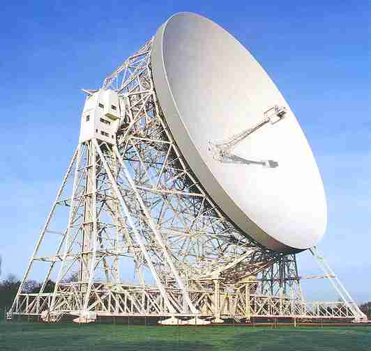 The 76.0 m Lovell radio telescope at Jodrell Bank Observatory