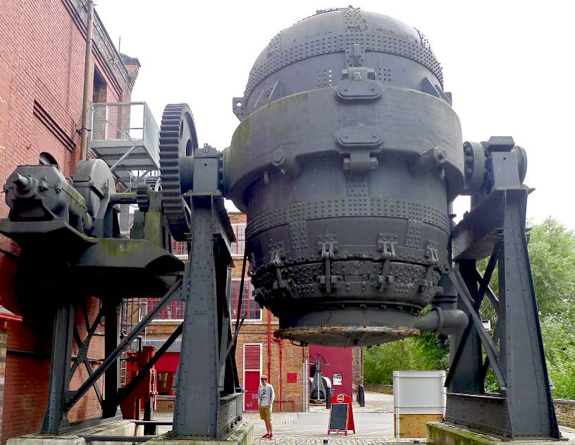A decommissioned Bessemer converter