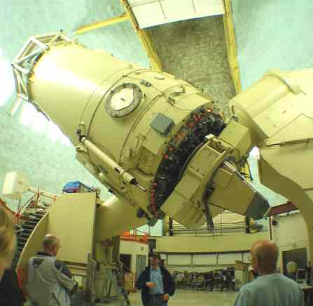 Harlan J. Smith Telescope at McDonald Observatory, Texas