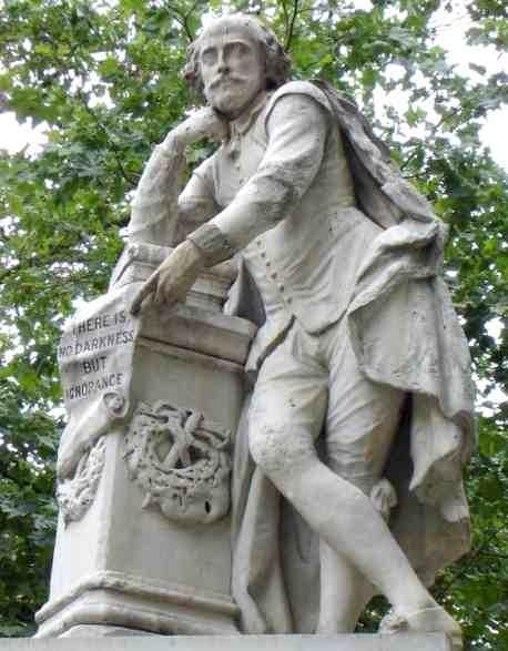 Wiliam Shakespeare William_Shakespeare_Statue