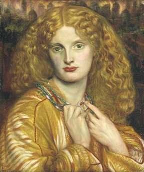 Galerie de Portraits Helen_of_troy_painting_dante_rossetti