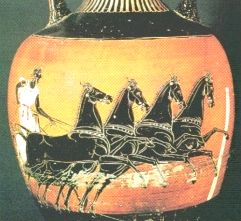 Olympic Games Greek chariot racing
