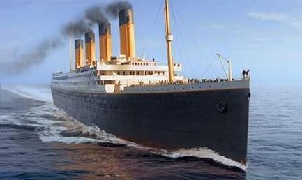 RMS Titanic ship sinking 15 April 1912