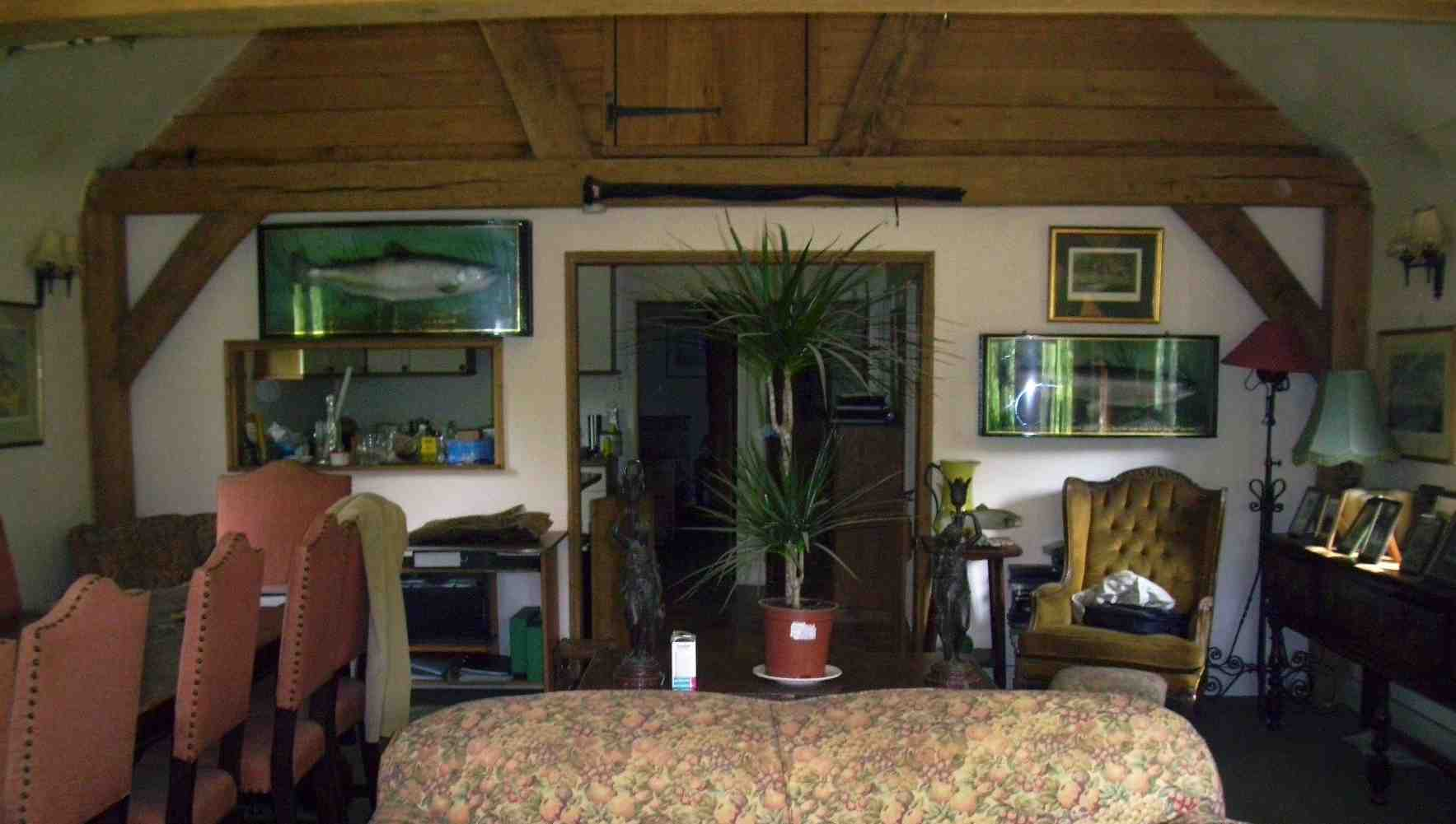 holiday cabin interior heathfield sussex
