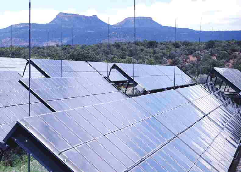Solar Panels as Sun Farm