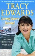 Tracy Edward's book Living Every Second