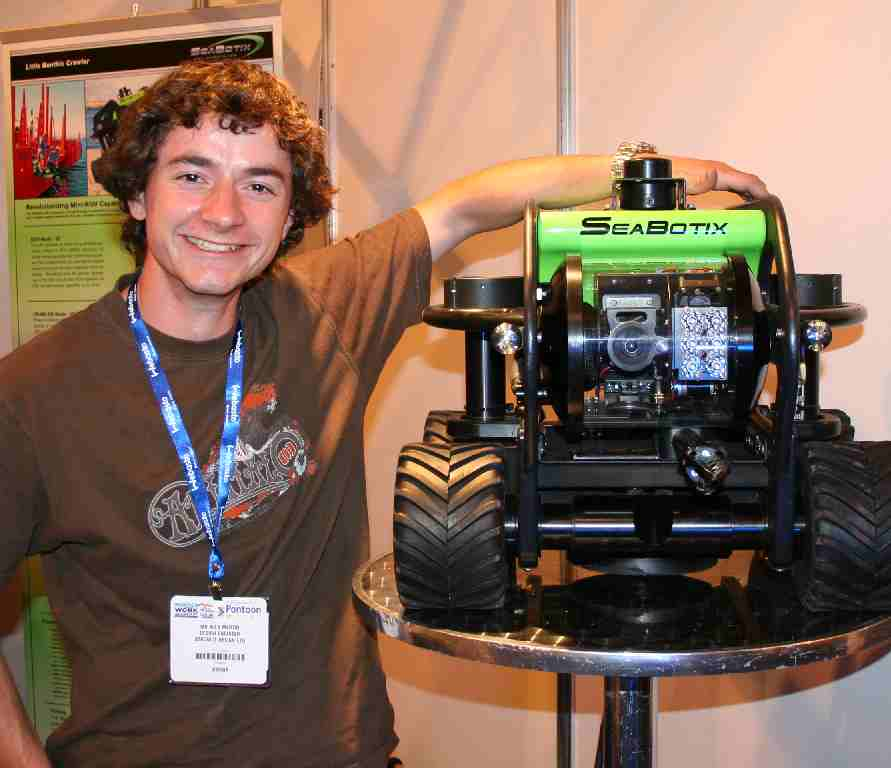 Alex Martin loved this robot submersible camera by Seabotix
