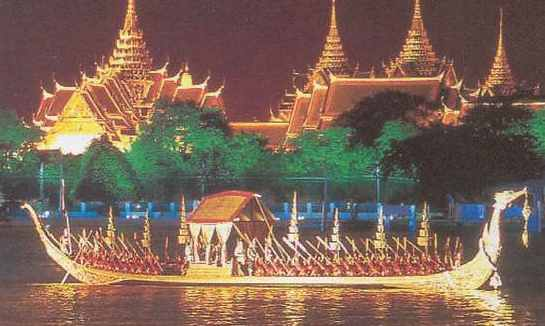 Royal ceremonial barge Thailand