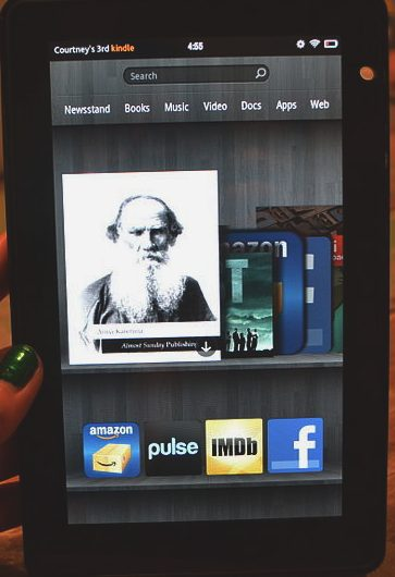 Courtney's 3rd Kindle Fire - smartphone