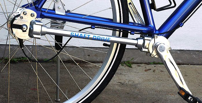 Sussex shaft drive innovation for bicycles of the future