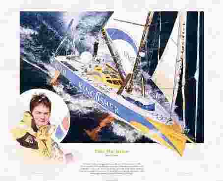 Ellen Macarthur limited edition print