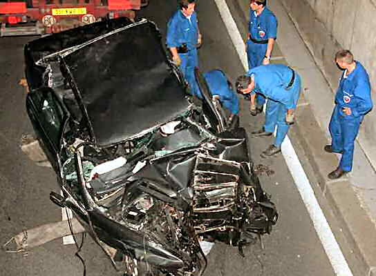 Diana Princess of Wales fatal car crash investigators France
