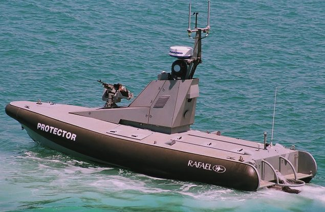 Protector, BAE systems and Lockheed drone boat, cyber wars, operation neptune