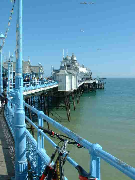 Eastbourne Pier, lovely sunny day by the seaside