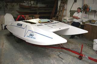 plywood hydroplane