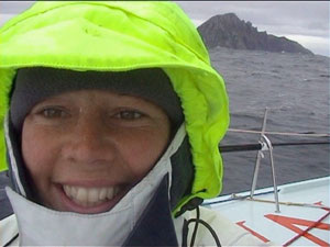 Emma at Cape Horn