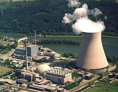 German nuclear power station