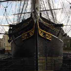 The Cutty Sark at Greenwich, London, England