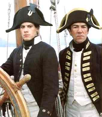 Hornblower and Captain Pellew