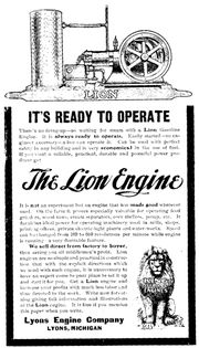 lion_antique_gasoline_engine_ ...