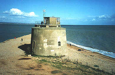 Martello Tower No.66 by the Sovereign Harbour entrance