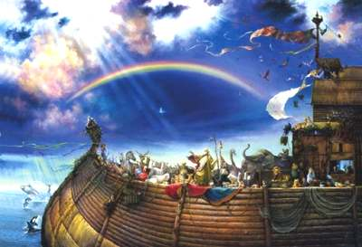 Noah's Ark rainbow covenant