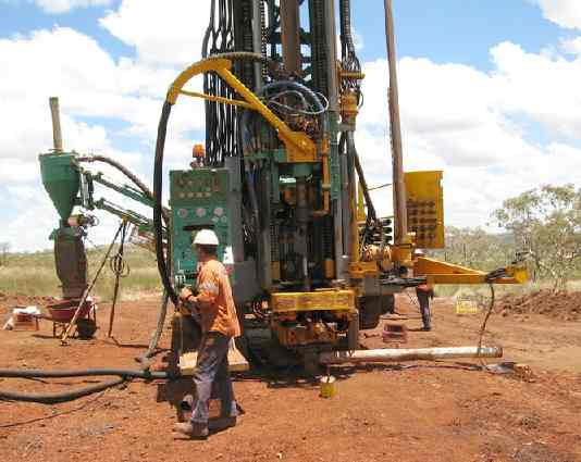 RC oil drill rig