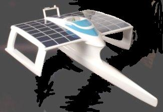 Planetsolar solar powered trimaran