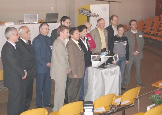 Raphael Domjan launching PlanetSolar in 2006