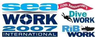 Seawork International 2007 logo 10th anniversary