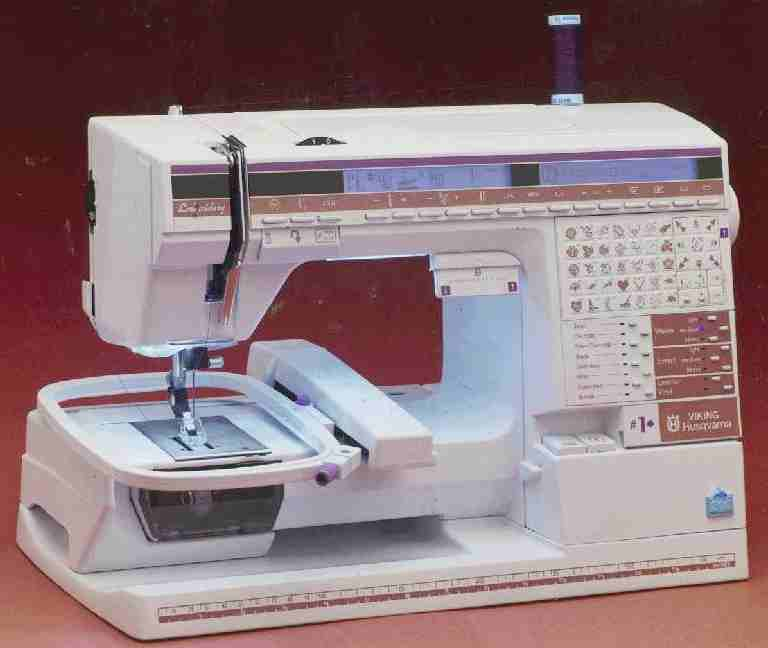 Viking Husqvarna Embroidery Machine, free machine embroidery