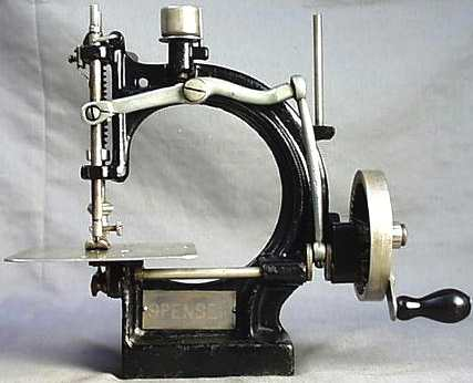 Spencer collectable antique sewing machine