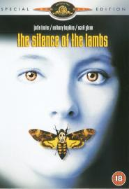 Silence of the Lambs movie (dvd cover) starring Anthony Hopkins