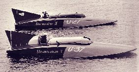 Slomoshun - World water speed record holder 1950-52