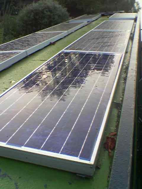 Solar Narrow Boat Company Electric Barges Reading Berkshire