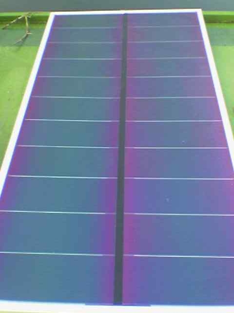 Solar barge photovoltaic panels