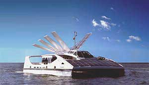 Solar Sailor, sail/solar hybrid ferry