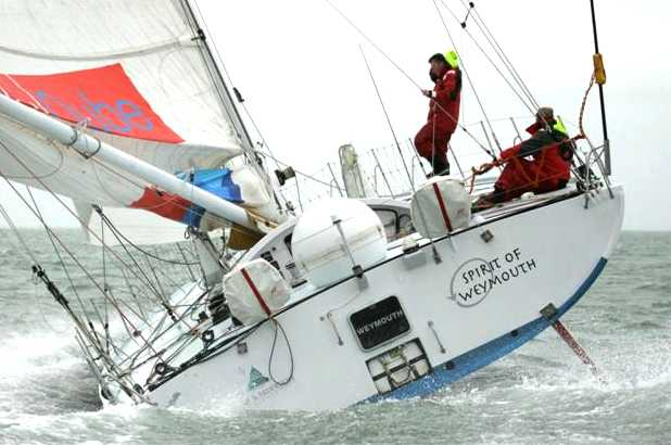Spirit of Weymouth Open 60 racing boat, Vendee Globe single handed race