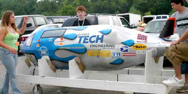 Submarine human powered races Umpty Squatch Sussex Tech