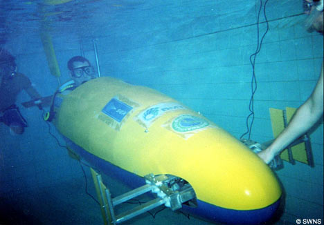 SeaBomb, was designed and built by a team of final-year engineering undergraduates from Bath University