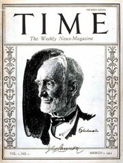 Time Magazine first cover 1923