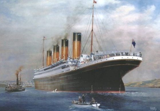 Rms Titanic The Sinking 15 April 1912 Ghost Ships