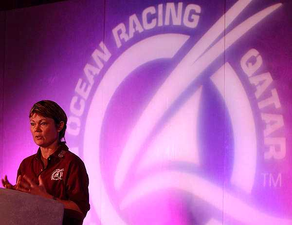 Tracy Edwards Orxy Ocean Racing Qatar speaker