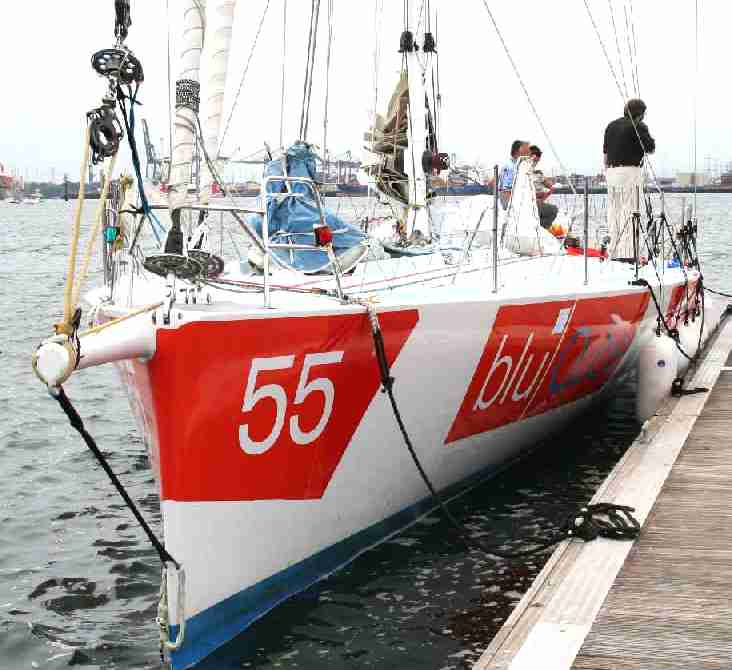Open 60 racing yacht - White Ocean Racing Vendee Globe contender