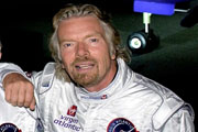 Richard Branson, founder of Virgin Atlantic