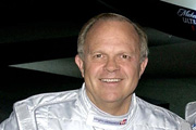 The driving force behind the project, Steve Fossett