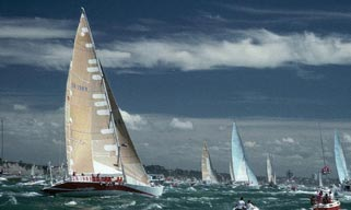Whitbread Race - Auckland, New Zealand
